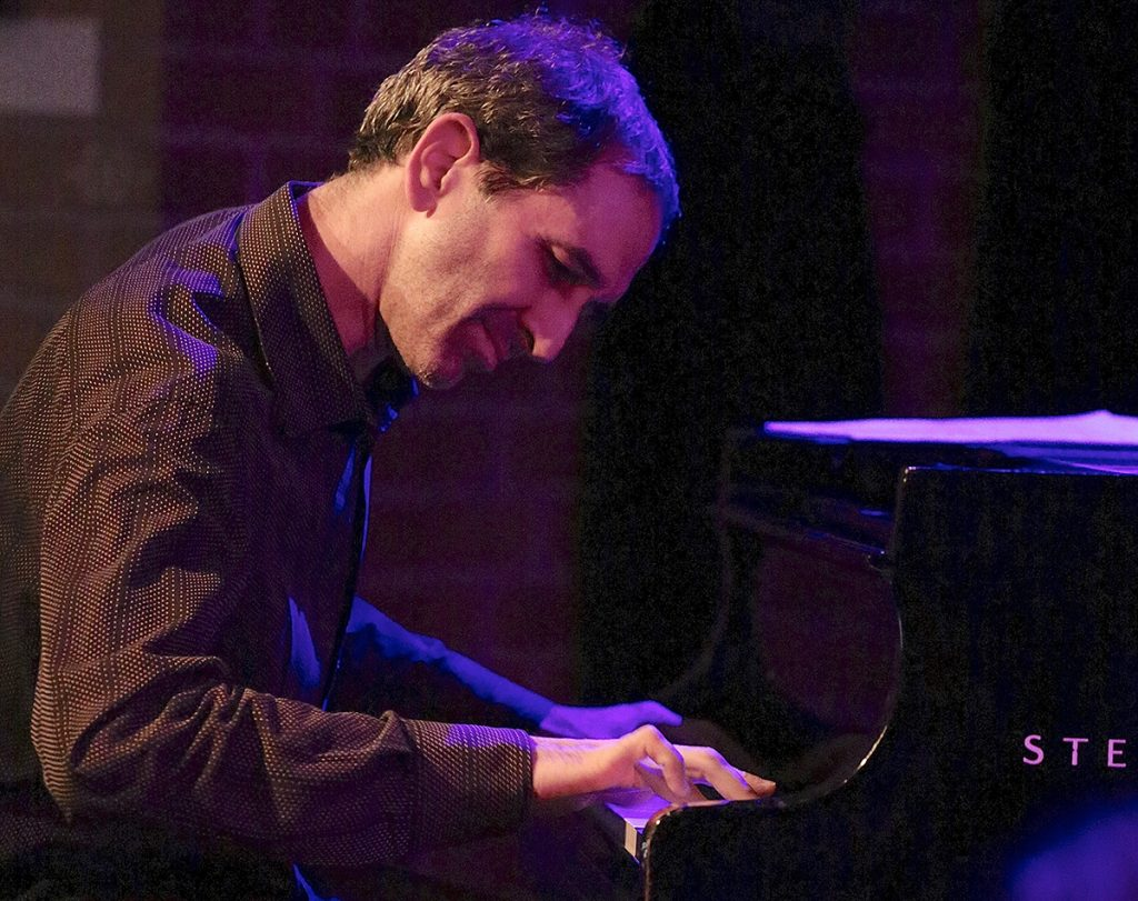 Dan Zemelman pianist in Europe with Jeff Denson Trio